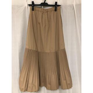 エミアトリエ(emmi atelier)のemmi プリーツデザインスカート(ロングスカート)