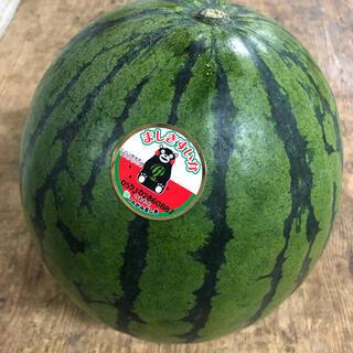 熊本県スイカ 1玉 約4.5kg(野菜)