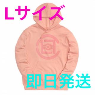 シュプリーム(Supreme)の即完売 限定 CLOT クロット フーディ パーカー L ピンク シュプリーム(パーカー)