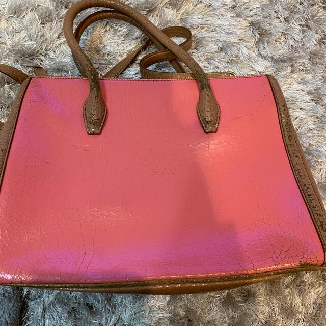 miumiu(ミュウミュウ)のmiumiu ヴィンテージ加工 トートバッグ レディースのバッグ(トートバッグ)の商品写真