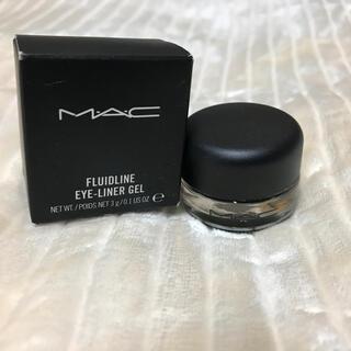 MAC - 【ほぼ未使用・箱あり】MAC マック✴︎ジェルアイライナー black