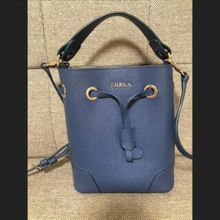 Furla - ハンドバッグ ショルダーバッグ ステイシー ミニ FURLA ブルー