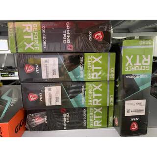 エイスース(ASUS)のRTX3080 9枚セット MSI GAMING TRIO ①(PCパーツ)