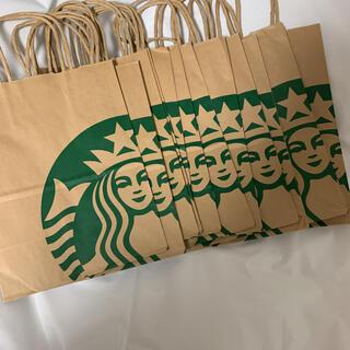 スターバックスコーヒー(Starbucks Coffee)のスタバ ショッパー 14枚(ショップ袋)