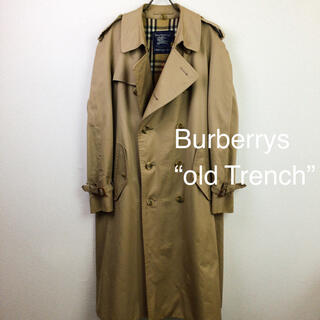 BURBERRY - 80s 英国製 Burberrys バーバリー 別注品 トレンチコート ベージュ