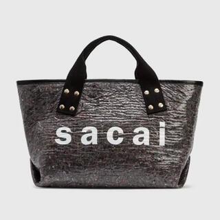 sacai - 21SS SACAI サウンドプルーフ ミディアム トートバッグ