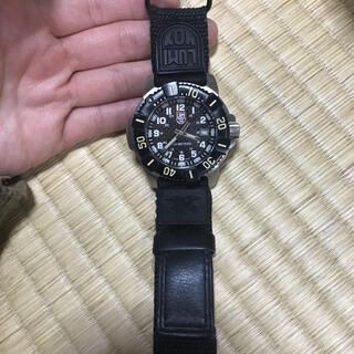 ルミノックス(Luminox)のLUMINOX ダイバーズウォッチ ブラック(腕時計(アナログ))
