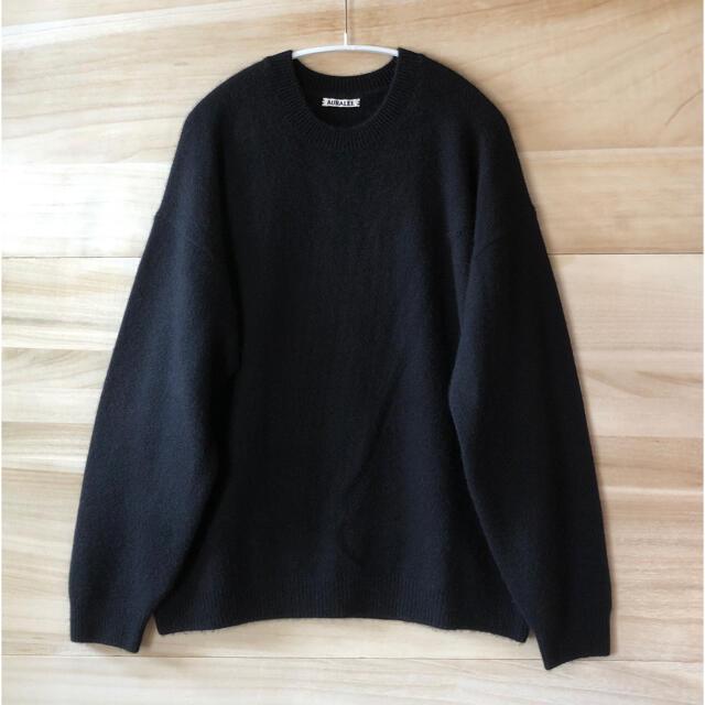 COMOLI(コモリ)の19aw Auralee ベビーカシミヤ ニット セーター メンズのトップス(ニット/セーター)の商品写真