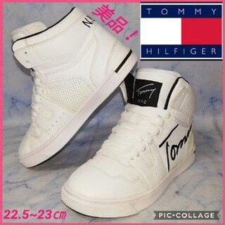 TOMMY HILFIGER - トミーヒルフィガー JACK HIGH レディース ハイカット【美品!セール★】