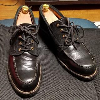 CALEE キャリー MOC TOE OXFORD BOOTS ブーツ