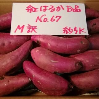 超お得!!訳あり☆限定品☆ねっとり甘い貯蔵品紅はるかB品約5Kです。(野菜)