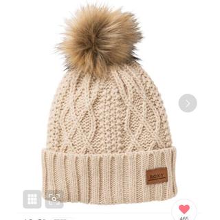 Roxy - ロキシー 帽子 ニットキャップ ビーニー ポンポン 新品