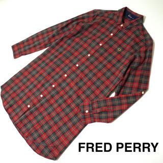 フレッドペリー(FRED PERRY)のフレッドペリー チェック シャツワンピース FRED PERRY (ひざ丈ワンピース)