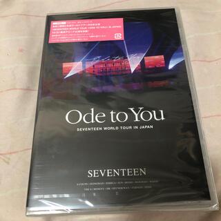 セブンティーン(SEVENTEEN)のSEVENTEEN セブチ DVD Ode to you 通常盤 未開封(アイドル)