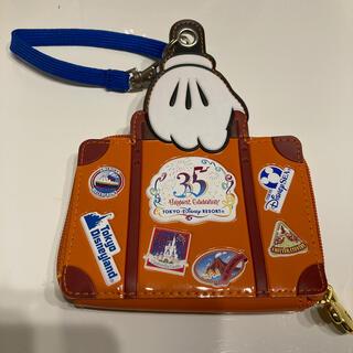 ディズニー(Disney)のディズニー35周年バケーションパッケージ パスケース(パスケース/IDカードホルダー)