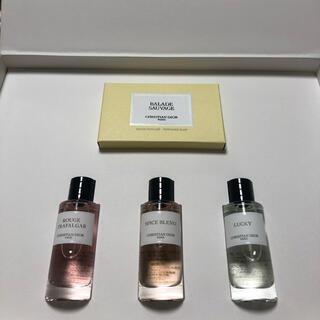 Christian Dior - 【新品未使用】ディオール  香水 ソープ ギフトセット