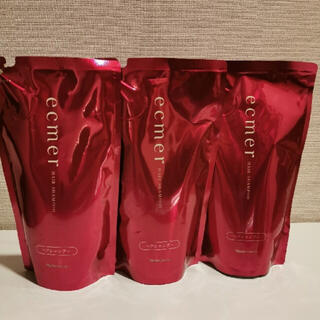ナリスケショウヒン(ナリス化粧品)のナリス エクメール シャンプー詰め替え用3点セット(シャンプー)