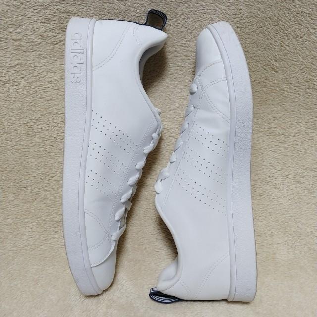 adidas(アディダス)の★美品★adidas アディダス スニーカー ホワイト 27㎝ メンズの靴/シューズ(スニーカー)の商品写真