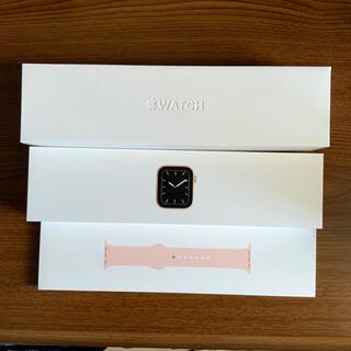 アップル(Apple)のApple Watch 5 GPS+Cellular 44mm(腕時計(デジタル))