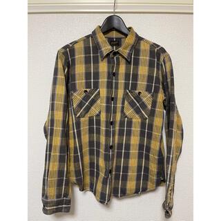 TENDERLOIN - Tenderloin テンダーロイン チェックシャツ ネルシャツ M
