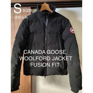 カナダグース(CANADA GOOSE)の正規品 未使用 カナダグース 3807MA ウールフォード ダウンジャケット S(ダウンジャケット)