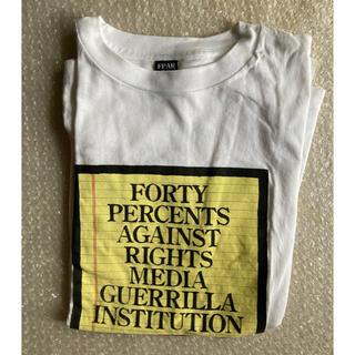ダブルタップス(W)taps)のFORTYPERCENTSAGAINSTRIGHTS×BEAMSSSZ(Tシャツ/カットソー(半袖/袖なし))
