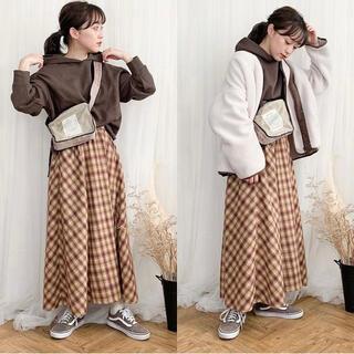 しまむら×てらさんコラボスカートterawear emuTRWオンブレーSK88