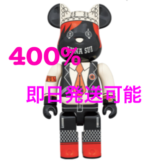 メディコムトイ(MEDICOM TOY)のBE@RBRICK ANNA SUI RED & BEIGE 400%(その他)