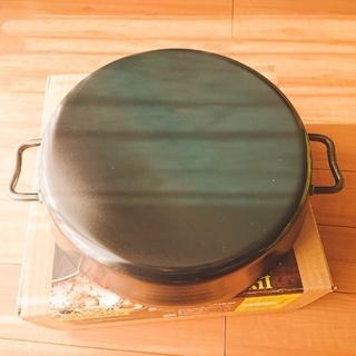 ユニフレーム(UNIFLAME)のUNIFLAME(ユニフレーム)ダッチオーブン12インチハーフ lH対応品(調理器具)