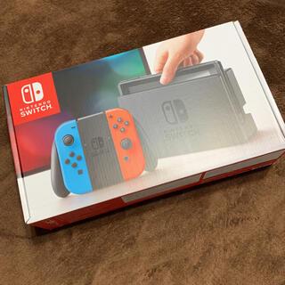 Nintendo Switch - 本体 Nintendo Switch ネオンブルー/ネオンレッド