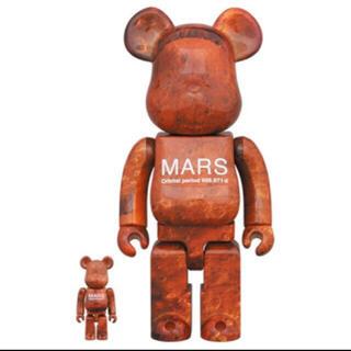 メディコムトイ(MEDICOM TOY)の新品未開封 MARS BE@RBRICK 100% & 400%(その他)
