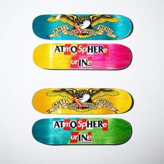 シュプリーム(Supreme)の2枚セット supreme ANTIHERO Skateboard(その他)