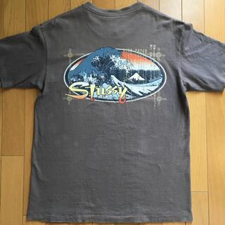 STUSSY - 90s old stussy ステューシー 葛飾北斎 tシャツ