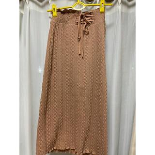 ダブルクローゼット(w closet)のwcloset スカート(ロングスカート)