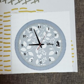 ディズニー(Disney)のディズニー 壁掛け時計 ミッキー(掛時計/柱時計)