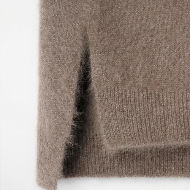 ANAYI(アナイ)のANAYI ラメラクーンボトルネックプルオーバー レディースのトップス(ニット/セーター)の商品写真