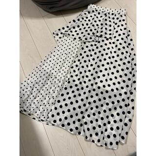 snidel - 美品 エクラン ドット ロングスカート