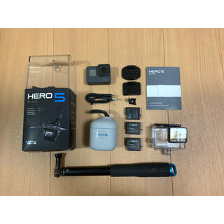 GoPro - GoPro hero 5 black 予備バッテリーなど付属品セット