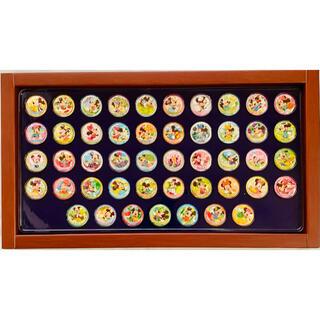 ミッキーマウス(ミッキーマウス)の非売品 ディズニー 缶バッジ ピンバッジ 47都道府県 第一生命 47種 47個(キャラクターグッズ)