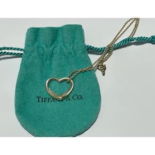 Tiffany & Co. - 美品■ティファニー TIFFANY&Co. オープンハート シルバーネックレス