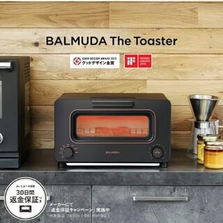 バルミューダ(BALMUDA)のBALMUDA スチームトースター K05A-BK(調理機器)