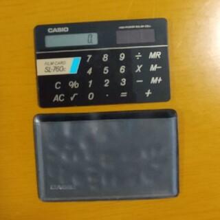 カシオ(CASIO)のCASIOカード型ソーラー電卓(その他)