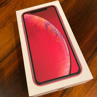 iPhone - iPhone XR 256GB レッド SIMフリー