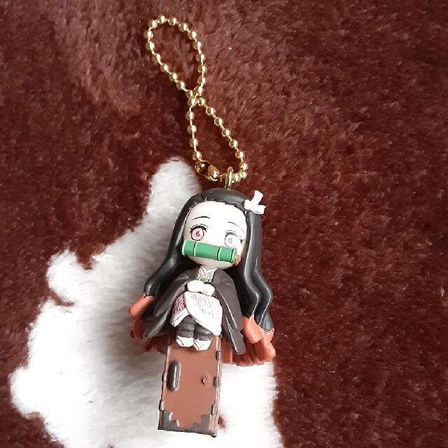 BANDAI(バンダイ)の鬼滅の刃 Twinkle dolly 竈門禰豆子 エンタメ/ホビーのアニメグッズ(キーホルダー)の商品写真