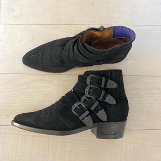 トーガ(TOGA)のtoga virilis 4 バックル スウェード ウエスタン ブーツ(ブーツ)