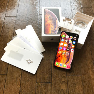 アップル(Apple)のiPhone Xs Max 512GB SIMフリー ゴールド(スマートフォン本体)