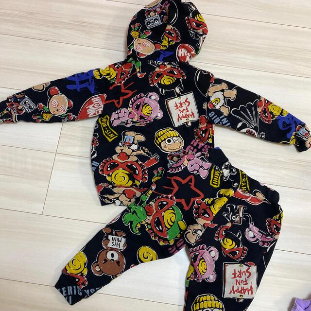 HYSTERIC MINI(ヒステリックミニ)の裏起毛せとあ キッズ/ベビー/マタニティのキッズ服男の子用(90cm~)(Tシャツ/カットソー)の商品写真