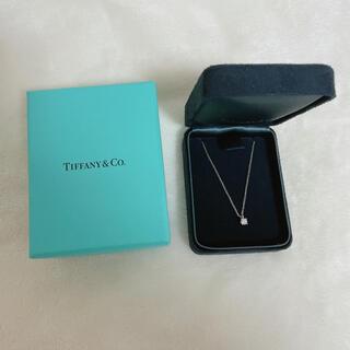 ティファニー(Tiffany & Co.)のソリティア 1粒ダイヤ ネックレス Tiffany(ネックレス)