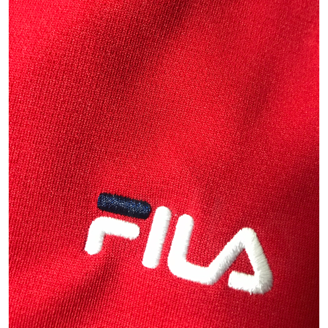 FILA(フィラ)のまるほぺ-JIJI様専用 FILA ジャージ ジャケット パーカー L レディースのトップス(パーカー)の商品写真