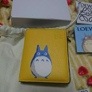 LOEWE - LOEWE ロエベ トトロ 新品 本物 折財布 となりのトトロ ウォレット